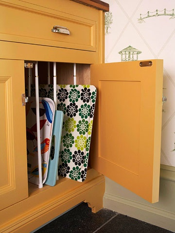 Better Homes & Gardens pan storage