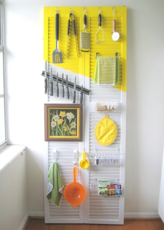 CRAFT-door-organizer-571x800 Kitchen Storage Ideas On A Budget on tuscan kitchen ideas on a budget, kitchen cabinets ideas on a budget, kitchen remodeling ideas for small kitchens, furniture ideas on a budget, kitchen storage cabinets, kitchen island made with shutters, small kitchen design ideas budget, bedroom ideas on a budget, interior design ideas on a budget,