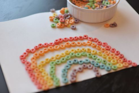Fruitloop Rainbow for St. Patricks Day by Mommyapolis