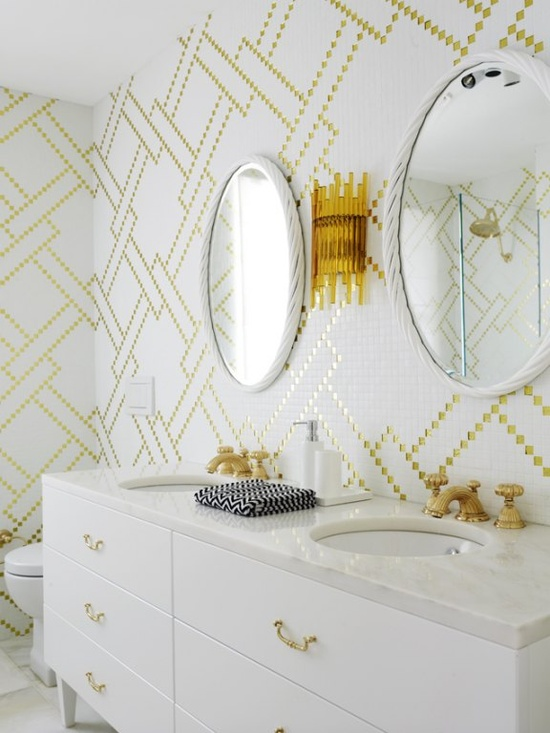Greg Natale gold tile