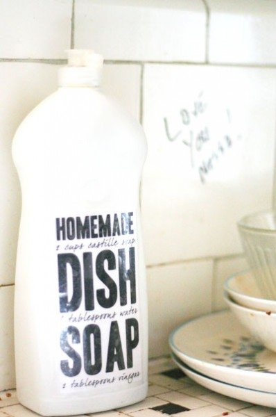 Homemade Dishsoap Tried and True