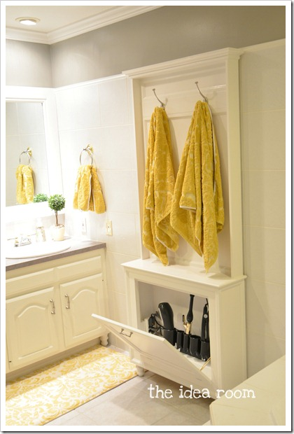 Terrific Creative Bathroom Storage Ideas