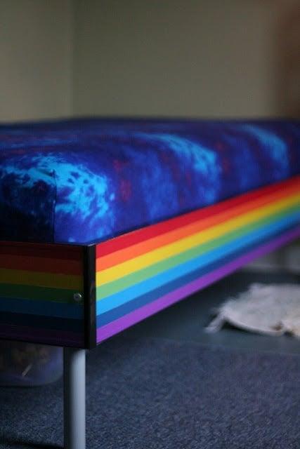Ikea Hackers rainbow bed