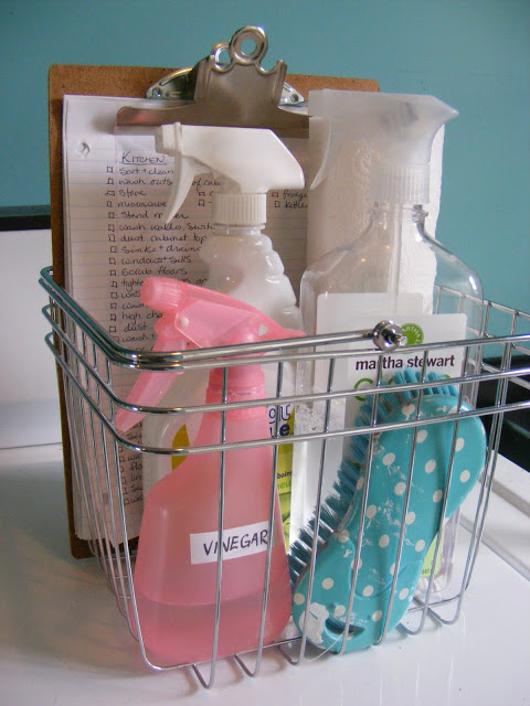 Imperfect Homemaking cleaning checklist