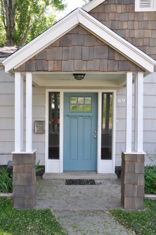 Lindsay & Drew front door