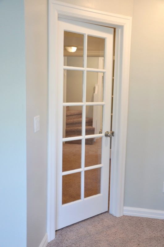 Home tour lindsay and drew s flip house construction haven home business directory - Interior french doors for office ...