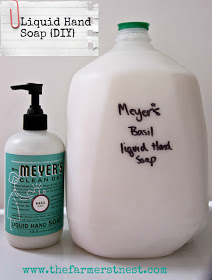 Liquid Hand Soap The Farmer's Nest