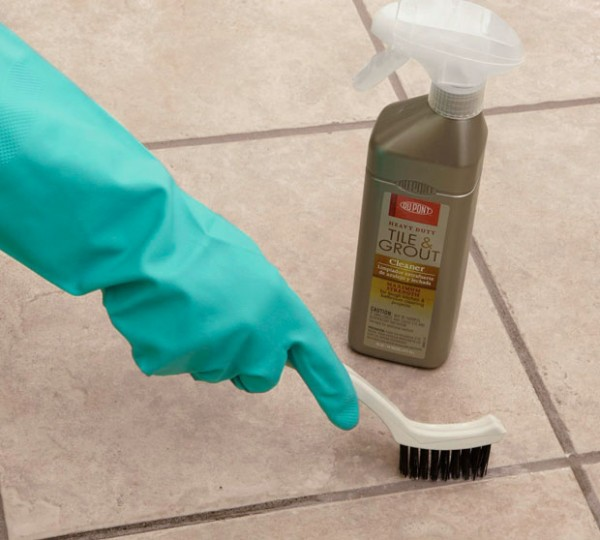 Lowe's how to clean grout