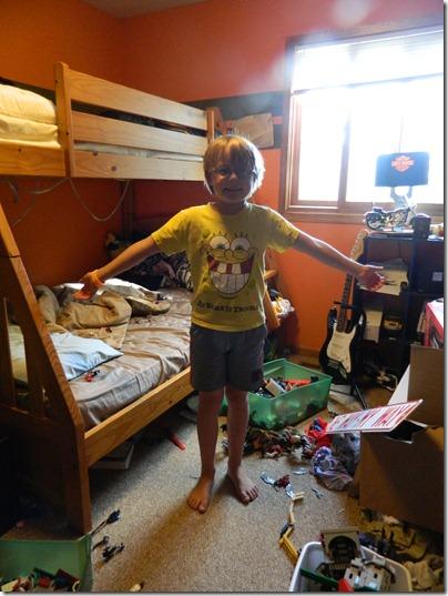 Nellie Bellie boy room before