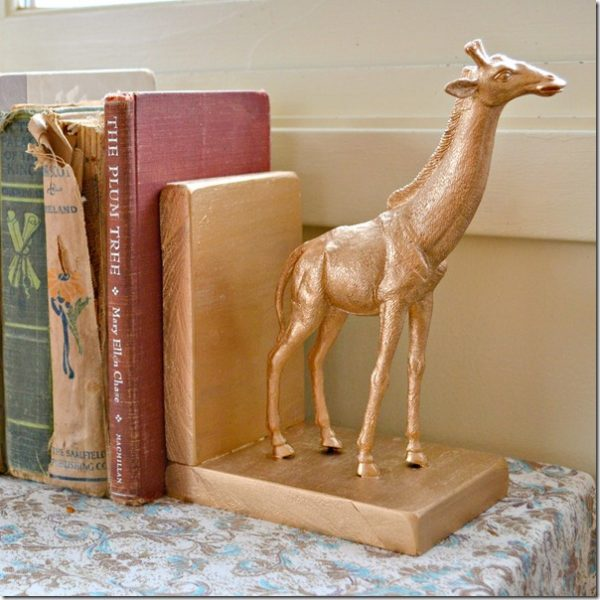 NellieBellie gilded animal bookends