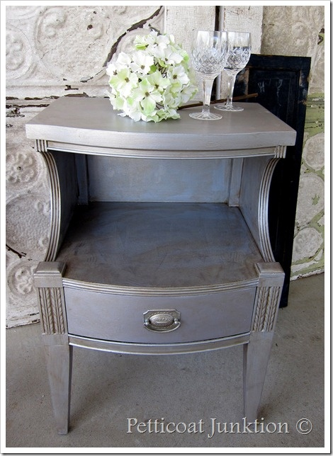 Petticoat Junction siler bedside table