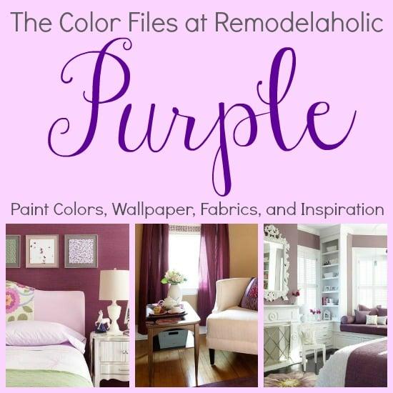 Purple Collage Pin Pic
