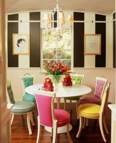 Scandinavian Chic tulip dining table