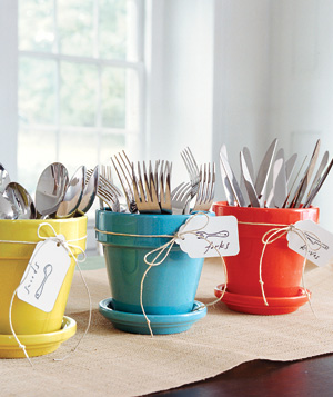 Simply Seleta potted silverware