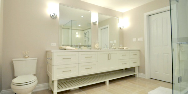 Elegant Neutral Bathroom Renovation