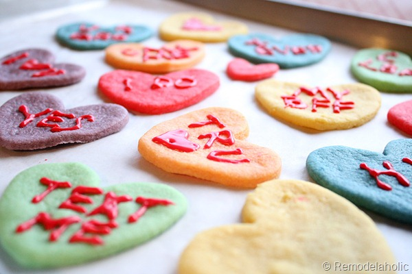 Valentine Converstaion Heart Cookies Koolaid Cookies Recipe (5)