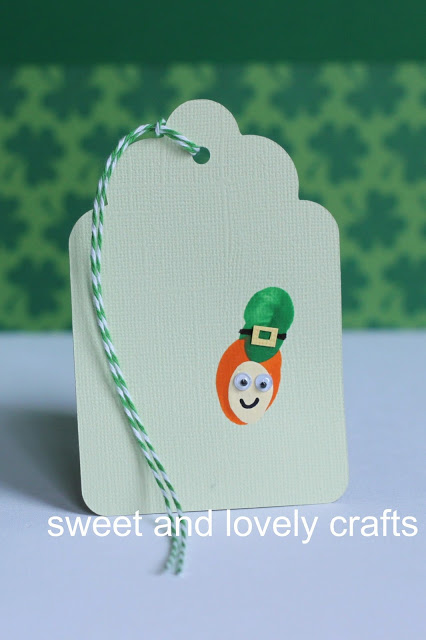 Wee Little Bookmark for St. Patrick's day kids craft by Sweet and Lovely Crafts