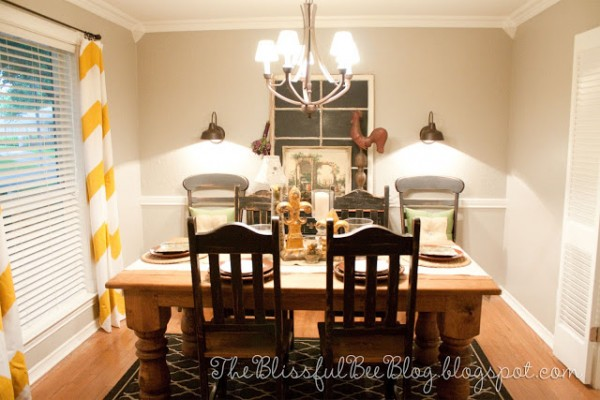 Yellow Chevron Curtains remodelaholic