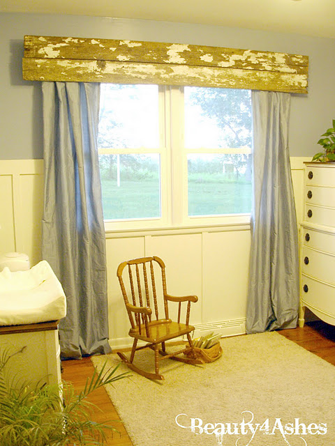 barnwood valance beauty 4 ashes