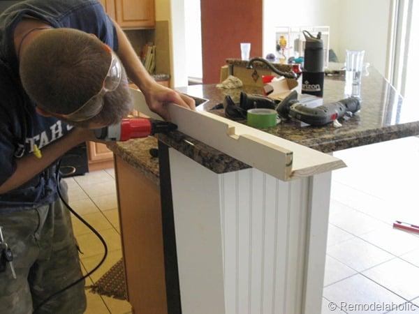 black board and batten kitchen island makeover-11-2