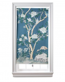 martha steward wallpaper window shade