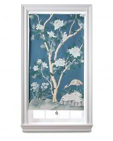 martha steward wallpaper window shade