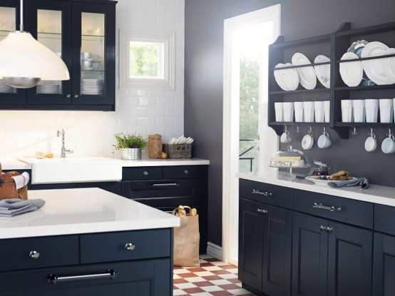 Remodelaholic your vote counts rescue remodel for Deco murale kitchen