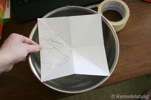 marking stencil marks