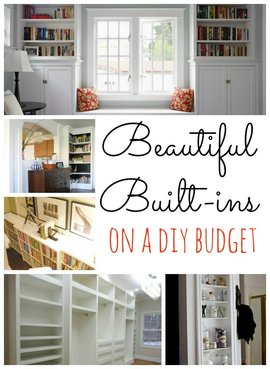 Remodelaholic home sweet home on a budget built ins for How to build a custom home on a budget