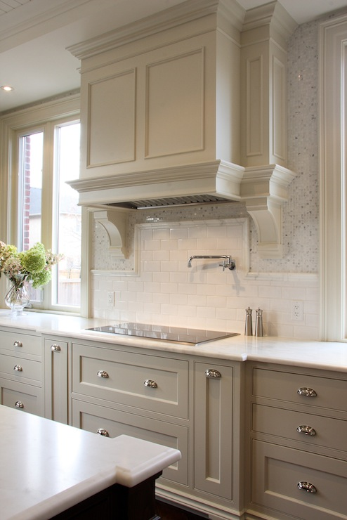 Clean Gray Kitchen & Remodelaholic | Trending Now: Color in the Kitchen