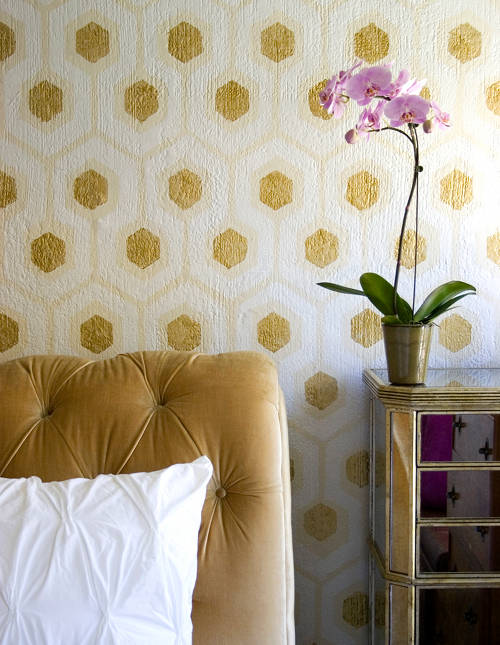 Design Sponge honeycomb stencil