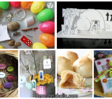 Easter Activities For Kids That Teach The True Meaning Of Easter Via Remodelaholic