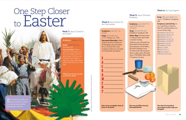 Easter Activities For Kids By Church Of Jesus Christ Via Remodelaholic