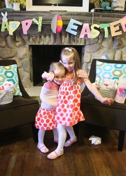 Easter baskets and Easter dresses 012