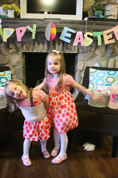 Easter baskets and Easter dresses 023