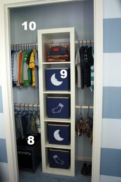 Example Closet 8 10