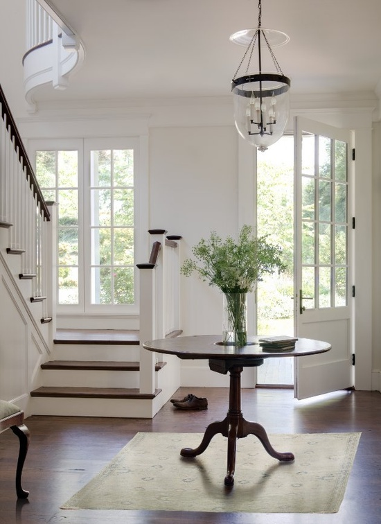 Home Bunch stairs with table
