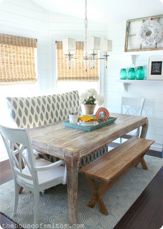 dining table with banquette seating memes