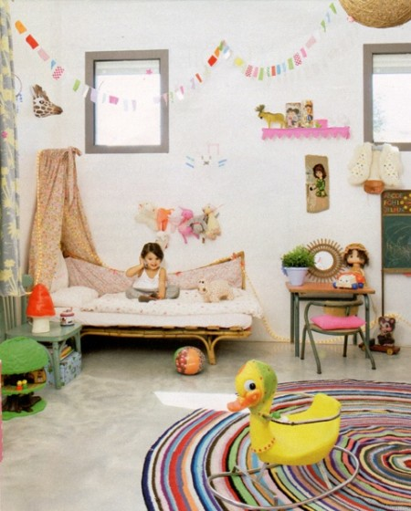 Colorful Kids Rooms: Rainbow Rooms; Full Color Spectrum Rooms