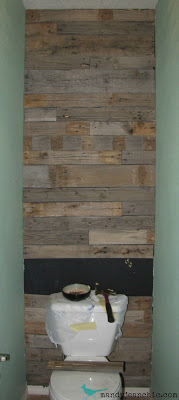 Mandy Jean Chic pallet wall 8