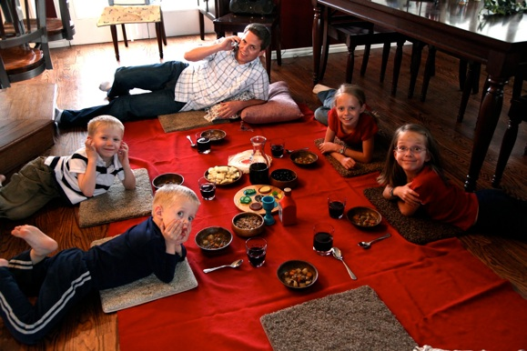 Our Family Blog passover supper, Easter activities for kids via Remodelaholic