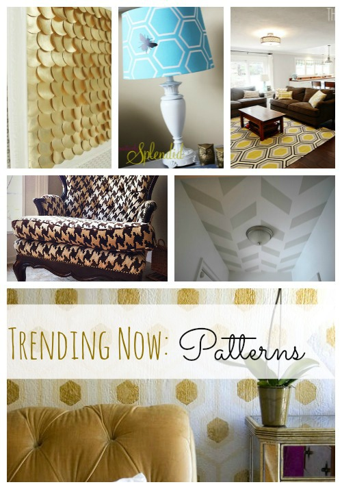 Trending design: Geometric Patterns in Home Decor