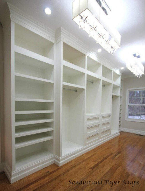 Remodelaholic Home Sweet Home On A Budget Built Ins - Diy built in shelves