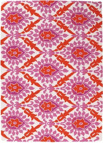 Pink And Orange Rugs Techieblogie Info