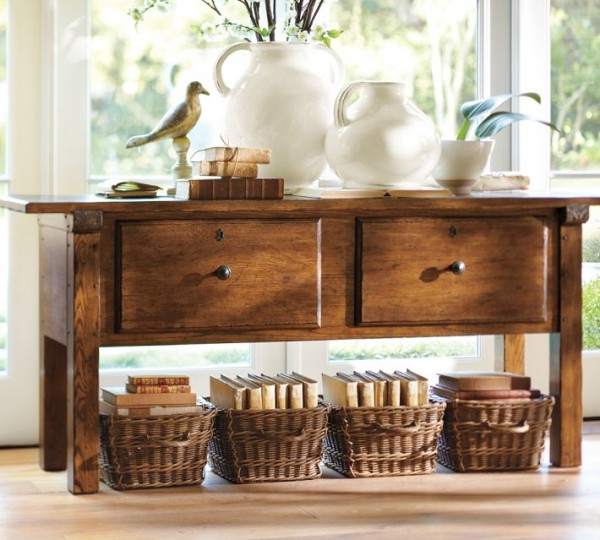 Lovely How To Decorate A Console Table