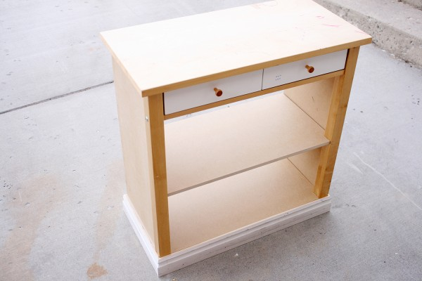 Card Table to console table