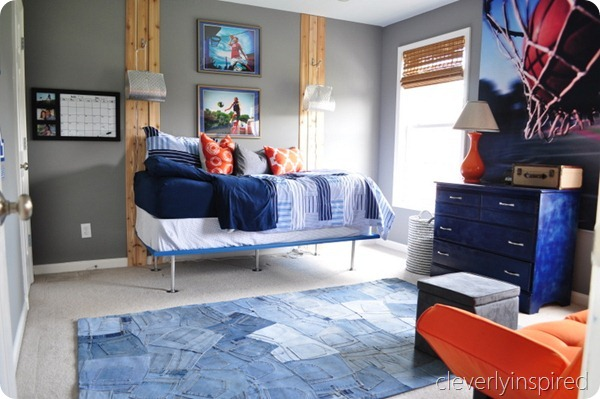 25 great bedrooms for teen boys. Black Bedroom Furniture Sets. Home Design Ideas