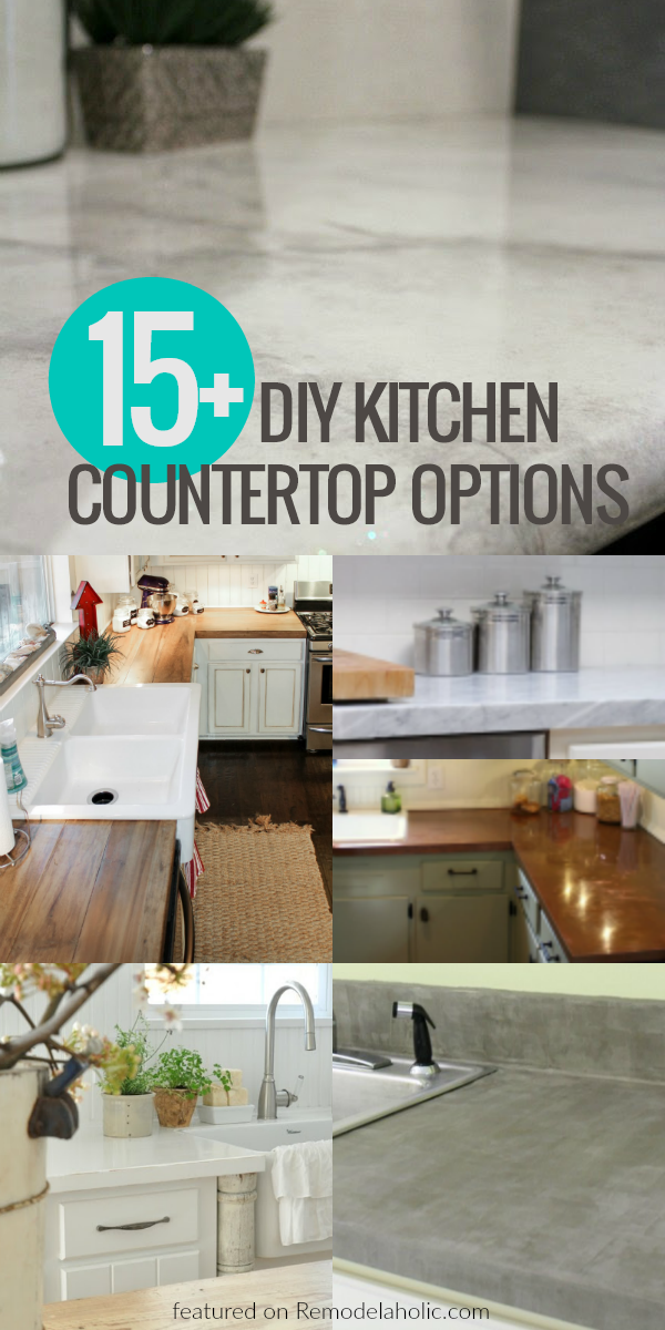 diy kitchen countertops. Black Bedroom Furniture Sets. Home Design Ideas