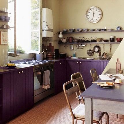 dark green painted kitchen cabinets. Dark Purple Painted Kitchen Cabinets Beautifully Colorful