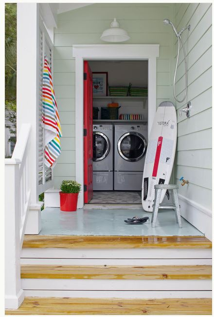 Houzz outdoor shower
